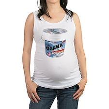TERRORIST CHUM bucket Maternity Tank Top