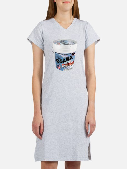 TERRORIST CHUM bucket Women's Nightshirt