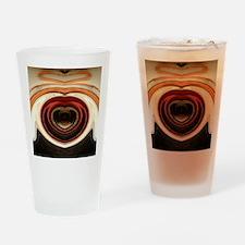 Reflecting_Heart_by_tiantuatara Drinking Glass