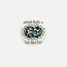 diamonds_best_friend_cumberlandfont Mini Button