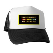 uss-long-beach-vietnam-veteran-lp Trucker Hat