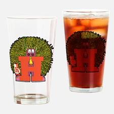 H Drinking Glass