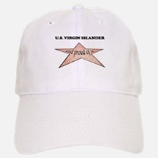 U.s. Virgin Islander and prou Baseball Baseball Cap
