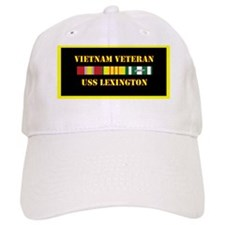 uss-lexington-vietnam-veteran-lp Baseball Cap