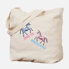 Charlie-D1-BlackApparel Tote Bag