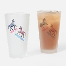 Charlie-D1-WhiteApparel Drinking Glass