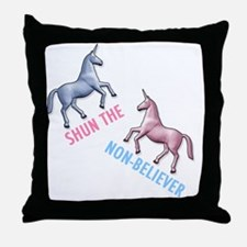 Charlie-D1-WhiteApparel Throw Pillow