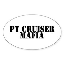 PT Cruiser Mafia Oval Decal
