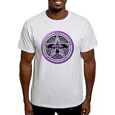 Purple Crow Pentacle T-Shirt