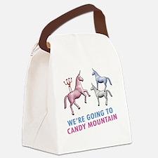 Charlie-D3-BlackApparel Canvas Lunch Bag