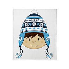 Wool Hat Pad2 Throw Blanket