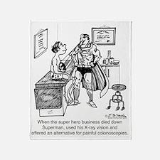 1995_medical_cartoon Throw Blanket