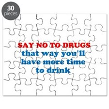 Say No To Drugs Puzzle