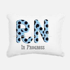 RN in Progress Rectangular Canvas Pillow