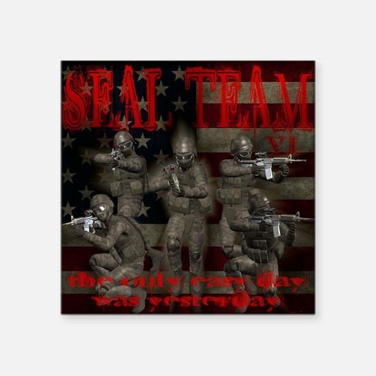 """SEALS Square Sticker 3"""" x 3"""""""