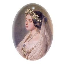 Victoria  Oval Ornament