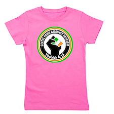 Celtic Fans Against fascism Girl's Tee