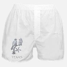 texas mockingbird 001 Boxer Shorts