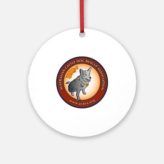 New ACDRA Logo transparent Round Ornament