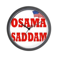 bin laden killed(blk) Wall Clock