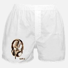 Microphone check Boxer Shorts