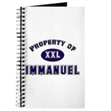 Property of immanuel Journal