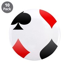 """Card-Suits-Vector-003.png 3.5"""" Button (10 pack)"""