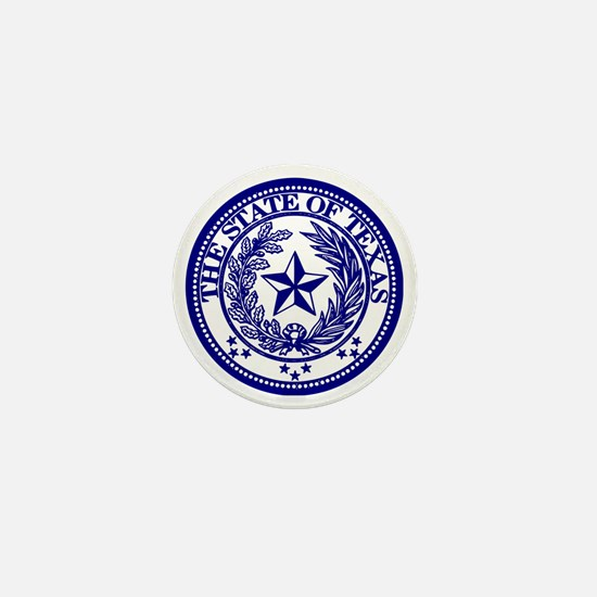 TexasBlue Mini Button