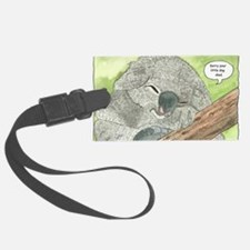 Sympathy Koala Bear Luggage Tag