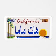 License5 Aluminum License Plate
