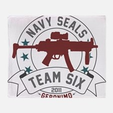 team six Throw Blanket