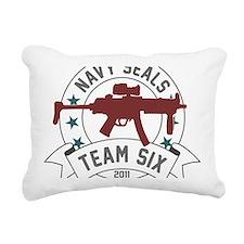 team six Rectangular Canvas Pillow