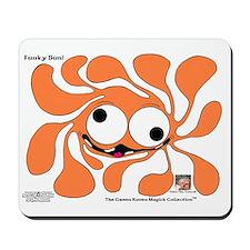 Funky Sun! In Pumpkin Mousepad
