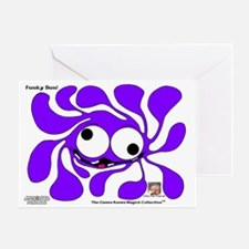 Funky Sun! In Lavender Greeting Card
