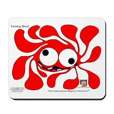 Funky Sun! In Scarlet Mousepad