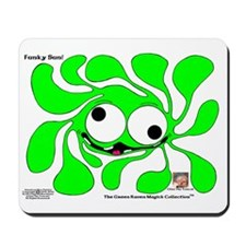 Funky Sun! In Lime Mousepad