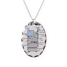 Dialysis is Complicated Necklace