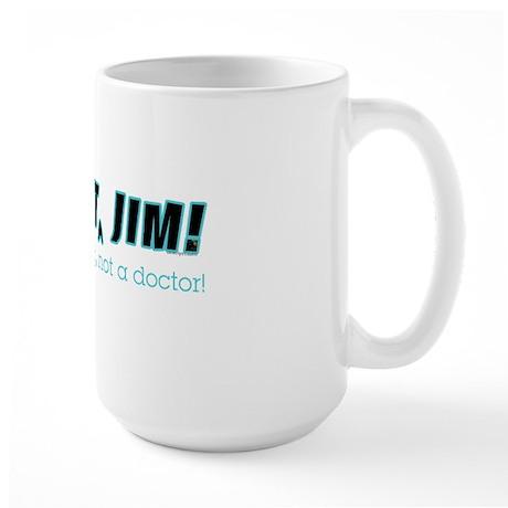 Travel Mug | Dammit Jim Redux Large Mug
