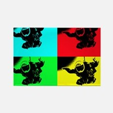 pop art rd tandem_edited-1 Rectangle Magnet