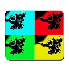 pop art rd tandem_edited-1 Mousepad