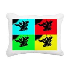 pop art rd tandem_edited Rectangular Canvas Pillow