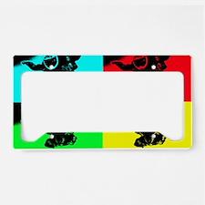 pop art rd tandem_edited-1 License Plate Holder