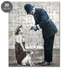 Old Police Print Puzzle