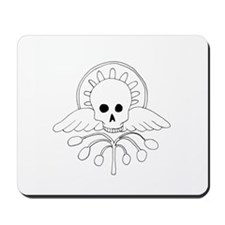 Skull with Wings Mousepad