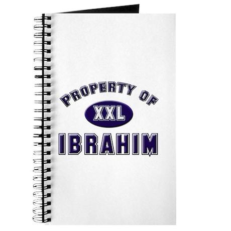 Property of ibrahim Journal