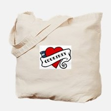 Courtney tattoo Tote Bag