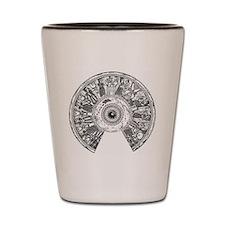 phoenician patera Shot Glass