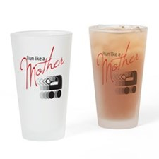 runlikemother2 Drinking Glass