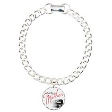 runlikemother2 Charm Bracelet, One Charm