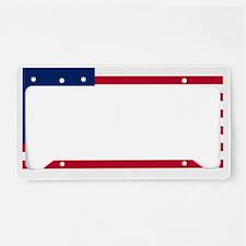 Bennington_Flag License Plate Holder